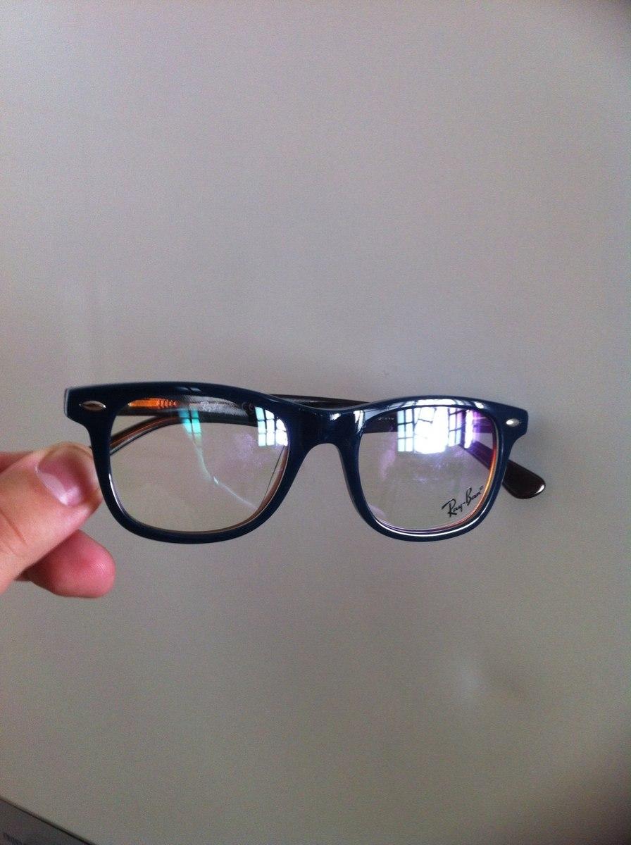 ecd78f613423e Armação Rayban Infanto-juvenil Para Óculos De Grau - R  120,00 em ...