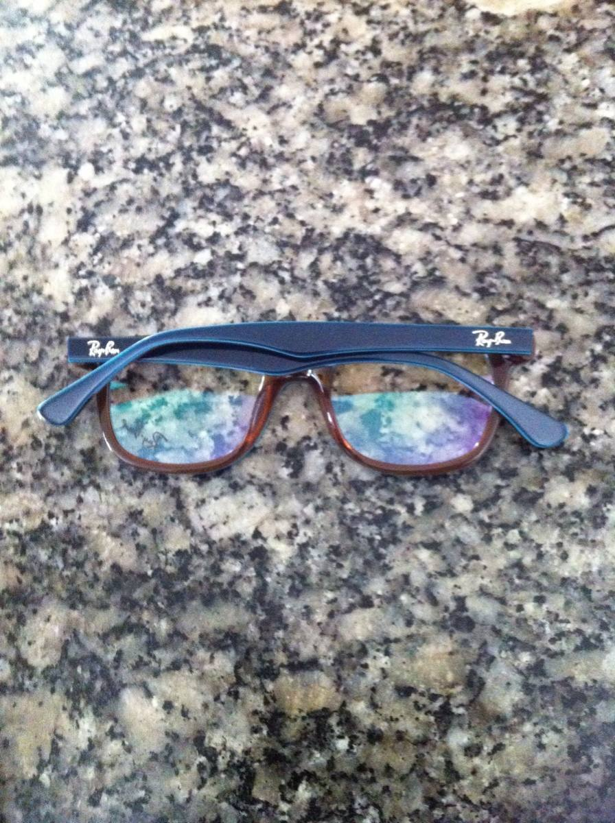 7961474a1 Armação Rayban Infanto-juvenil Para Óculos De Grau - R$ 120,00 em ...