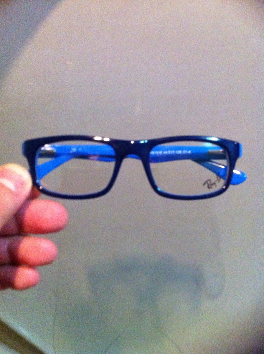 03e4383692770 armação rayban para óculos de grau infantil. Carregando zoom.