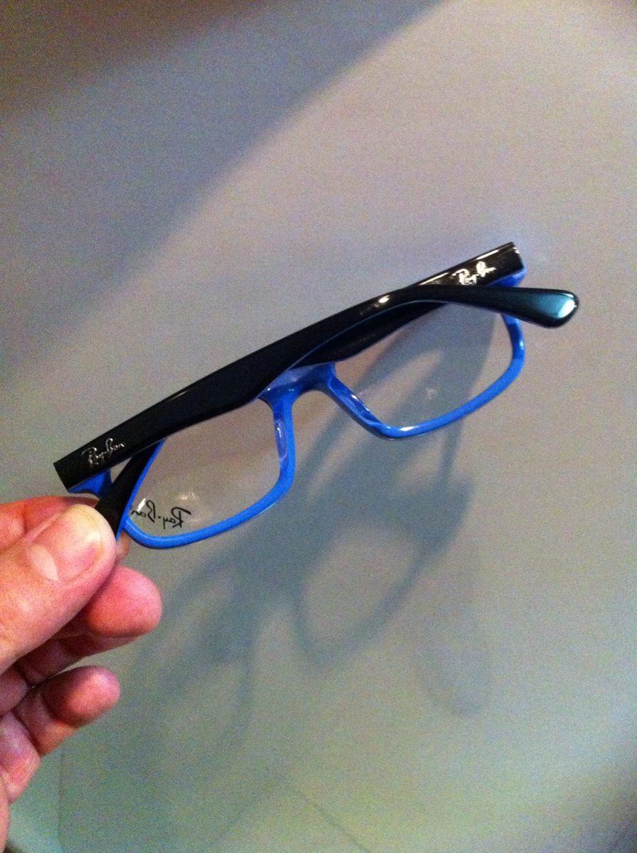5b42307fc Armação Rayban Para Óculos De Grau Infantil - R$ 110,00 em Mercado Livre