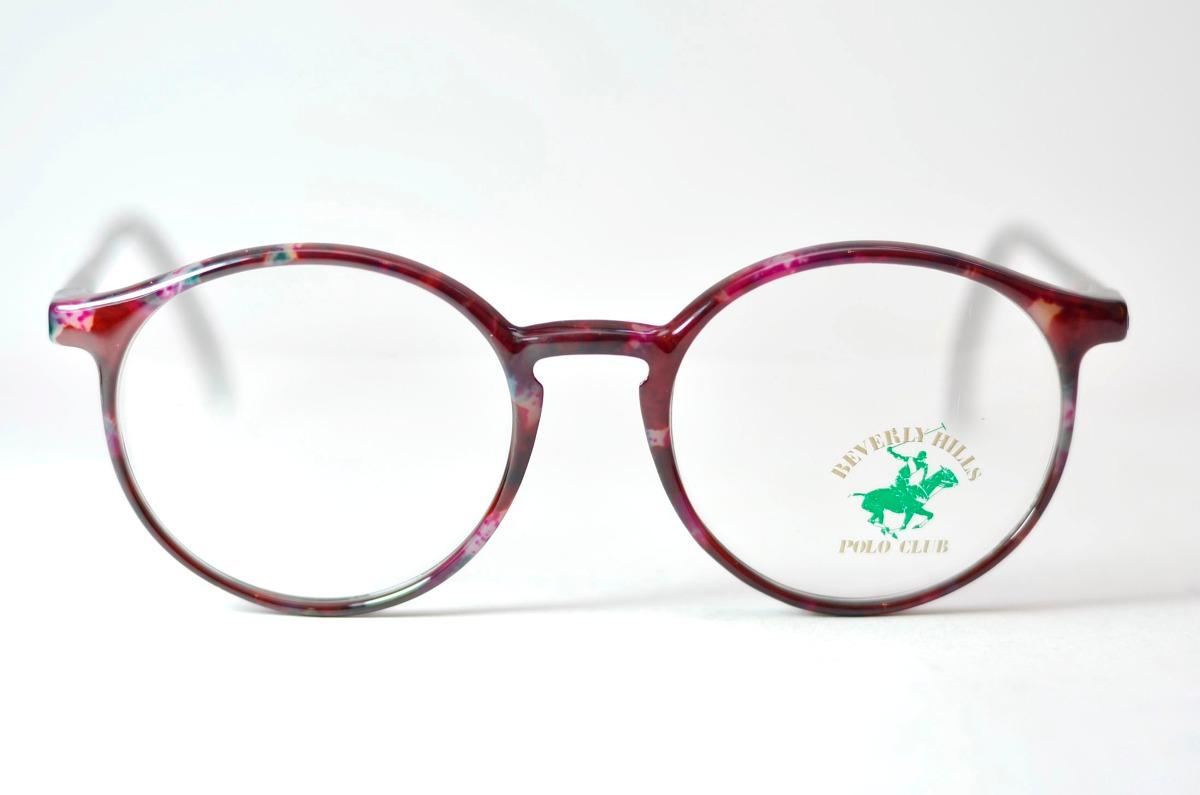 027d061ca2759 Armação Redonda Acetato Para Óculos De Grau - Polo Club - R  99