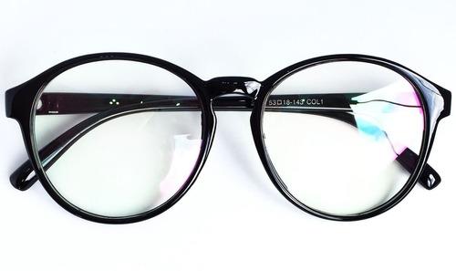 Armação Redonda E Unissex Para Óculos De Grau - Várias Cores - R  80 ... 068c7dae0b