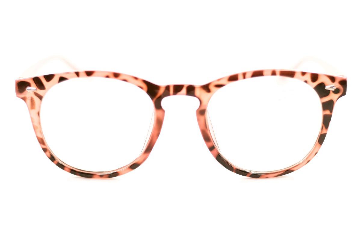 7f681ebab1c6e Armação Redonda Geek Color Óculos Com Lentes Sem Grau 20154 - R  22 ...