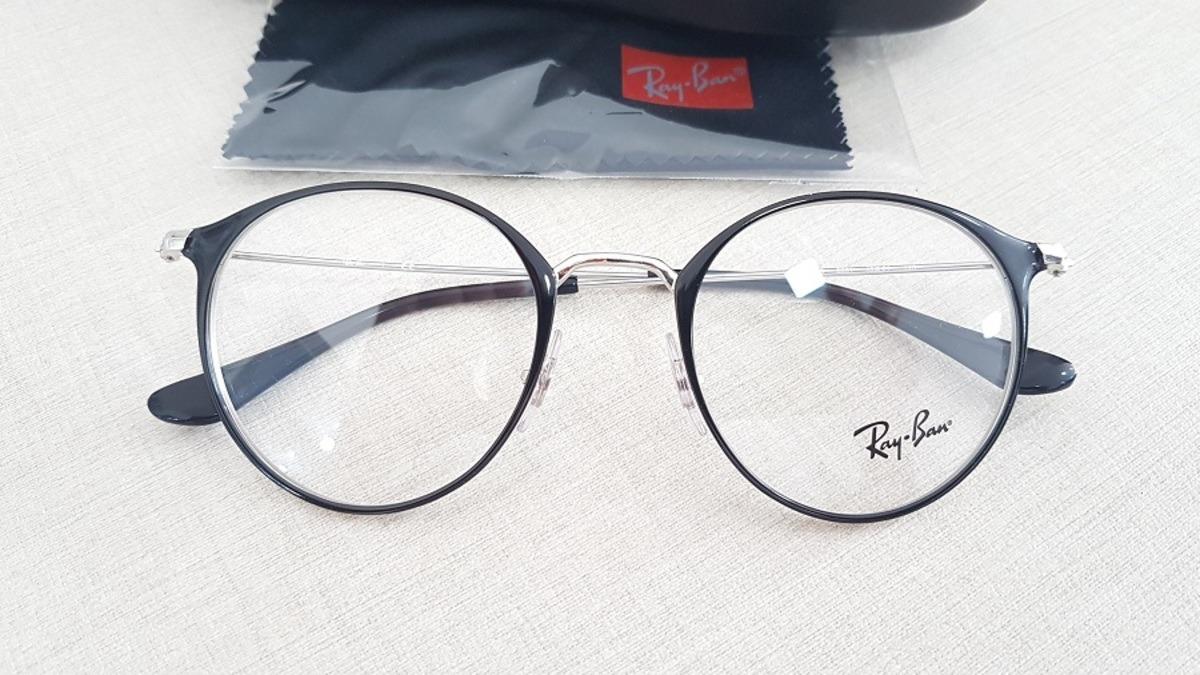 5d2fd4fe438d1 armação redonda óculos de grau ray-ban rb6378 2861 original. Carregando  zoom.