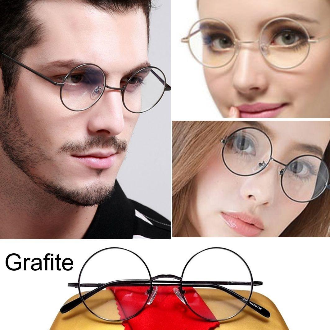 armação redonda óculos john lennon 4.7 retro 4 parafusos. Carregando zoom. bb31775805