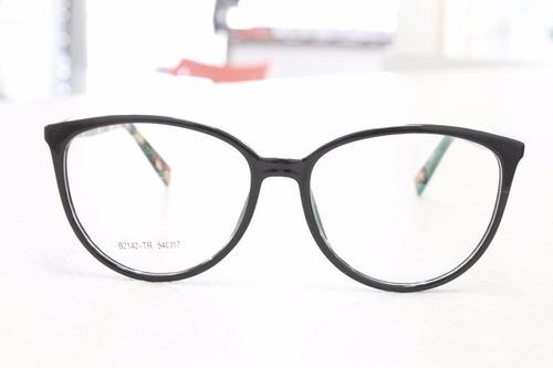 3e9d185758025 Armação Redonda Para Óculos De Grau Feminina - Frete Gratis - R  129 ...
