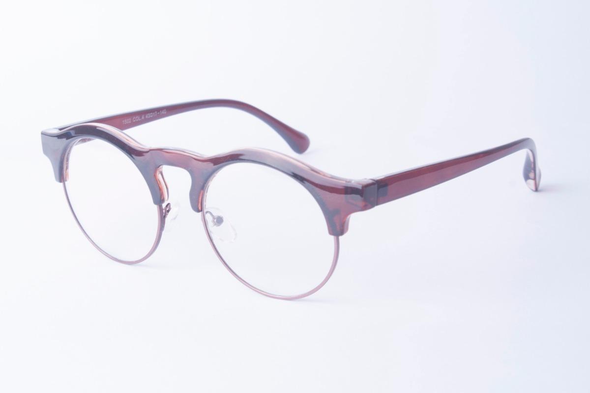 f96d9177e5687 armação redonda   redondo retrô vintage p  óculos de grau. Carregando zoom.