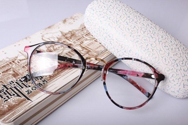 Armação Redonda Unissex Para Óculos De Grau - Várias Cores - R  44 ... 503f59ec97
