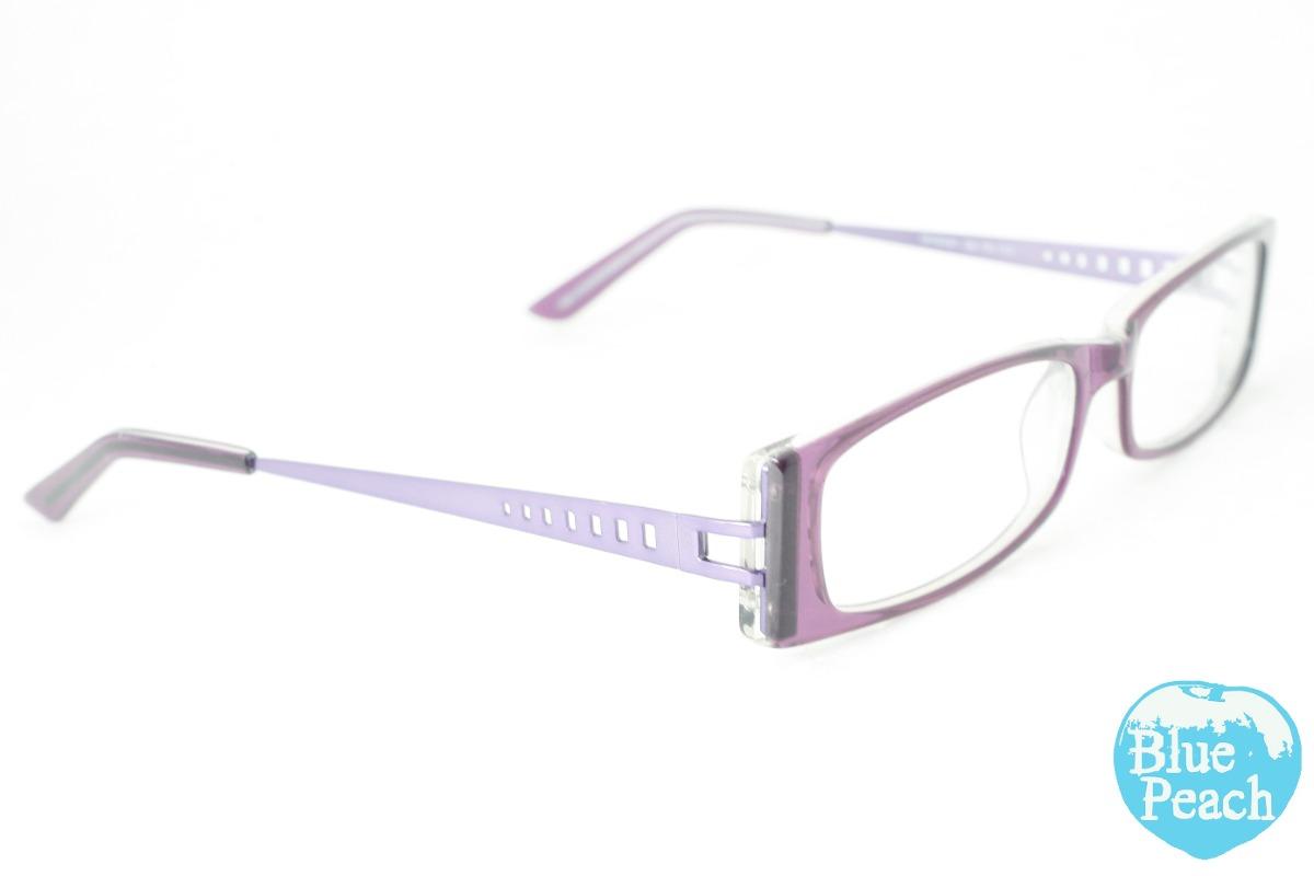 2aac7dcb6443e Armação Retangular P  Óculos De Acetato Com Hastes De Metal - R  44 ...