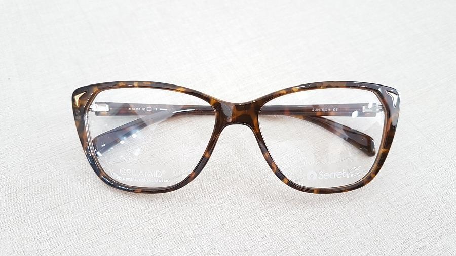 6087ff2871f5f Armação Feminina Secret Para Óculos De Grau Gatinha - 80052 - R  129 ...