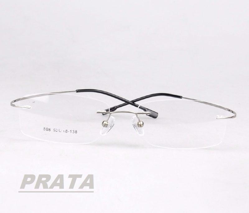 c0f0f137e Armação Sem Aro 9 Cores P/ Óculos De Grau Em Titânio Memory - R$ 40 ...