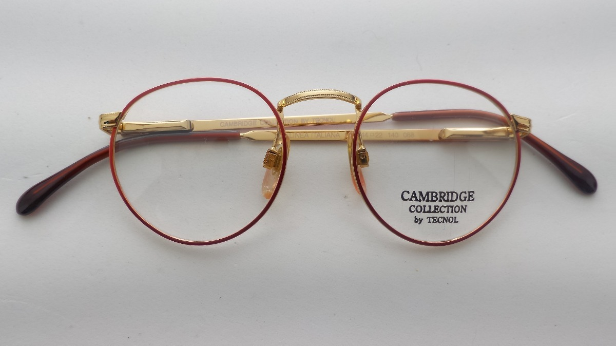 240a813c14ab8 Armação  sol Ou  receituário Retrô Cambridge Tecnol 527r - R  93