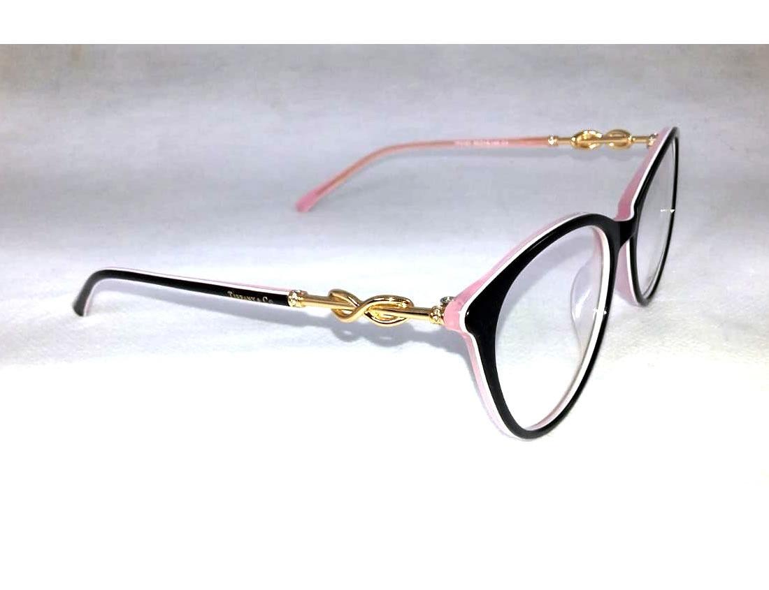 Armação Tiffany Óculos De Grau Feminino - Acetato - R  128,99 em ... 12a48a9b2c