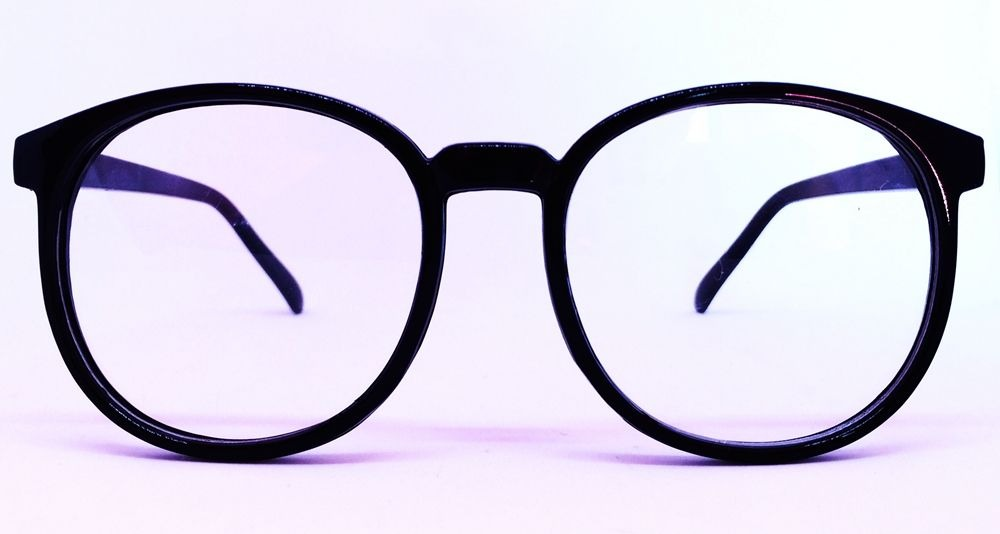 b1f389dc6ce06 armação unissex estilo nerd para óculos de grau - preto. Carregando zoom.