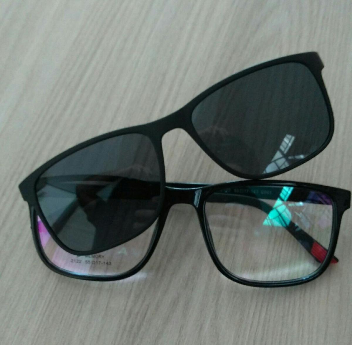 26d84c0711869 armação unissex grau clip on óculos sol barato promoção. Carregando zoom.