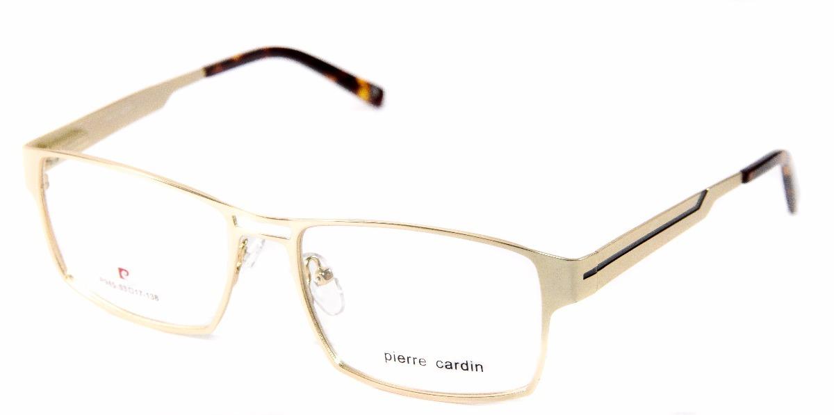 b7fbfe4ece3 armação unissex p  óculos de grau pierre cardin 945 original. Carregando  zoom.