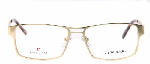 e5ad7e22ff5 Armação Unissex P  Óculos De Grau Pierre Cardin 945 Original - R ...