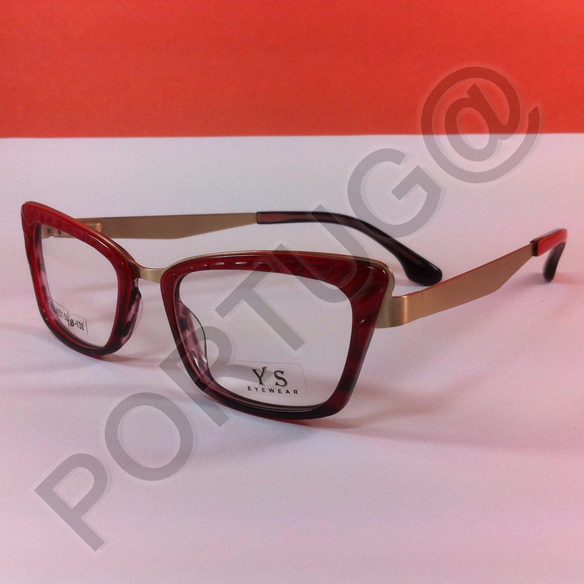 14b322ae9 armação vermelho c/ vinho feminina mulher óculos lentes grau. Carregando  zoom.