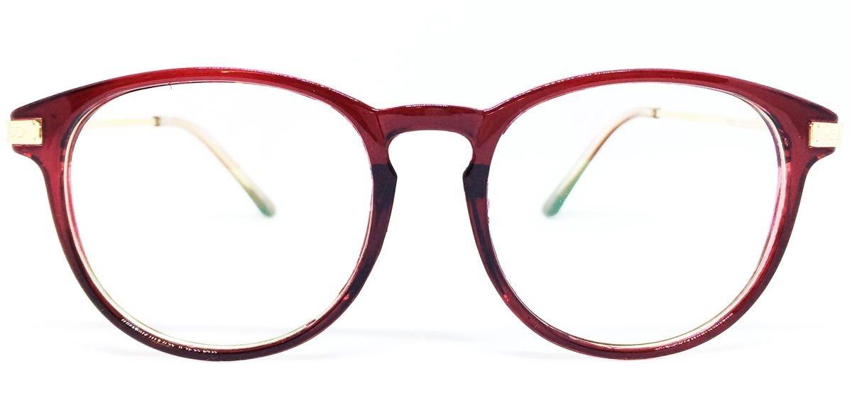 40826bef9 armação vintage para óculos de grau - vermelho escuro. Carregando zoom.