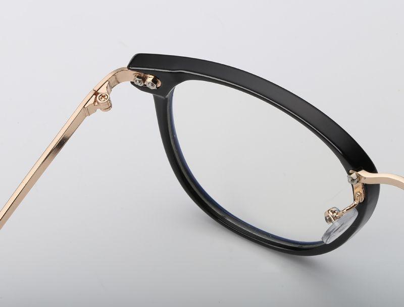 da0f507fb5fe5 armação vintage redonda unissex para óculos de grau - preta. Carregando  zoom.