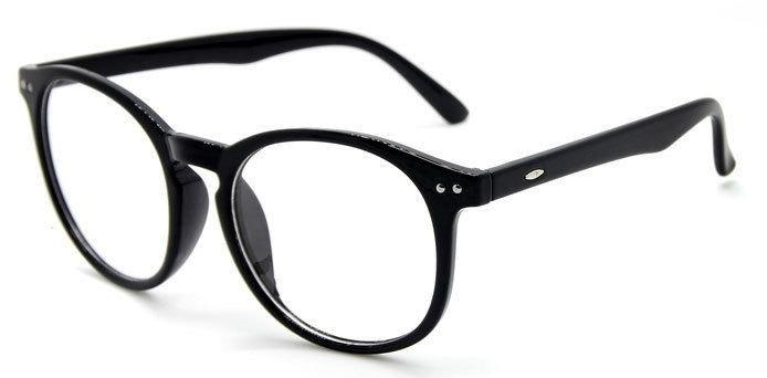958e90ba55966 Armação Vintage Unissex Para Óculos De Grau - Preto - R  61
