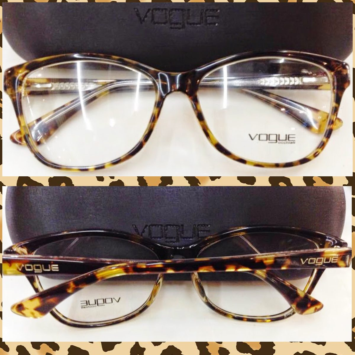 68a6c409fe4b9 armação vo2740 acetato tartaruga óculos estilo gatinho. Carregando zoom.