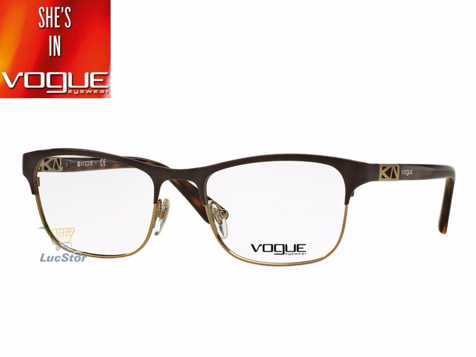 2c8d1abb2006d Armação Vogue Vo3996-53-997 Feminina Metal E Acetato - R  429,99 em ...