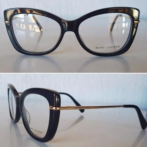 e79cce1c43143 Armações De Óculos De Grau Marc Jacobs - R  80