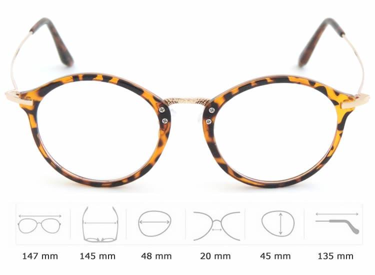 caeaef7803bfb Armações De Oculos Em Acetato E Metal Retrô Atualizado - R  98,90 em ...