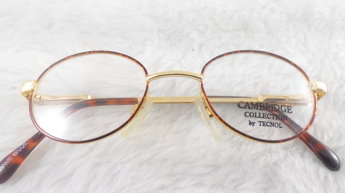 865d9ab1f9ba7 Armações Óculos  metal Infanto Juvenil  cambridge 4131i - R  99