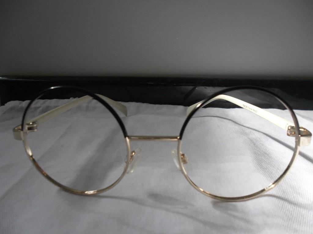 armação óculos redondo 50 mm preto sem lentes para grau. Carregando zoom. 9a4307b34d