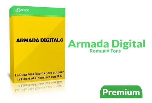 armada digital romuald fons generar ingresos pasivos con seo