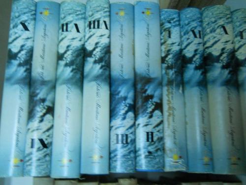 armada - historia maritima argentina. vols. 1-10