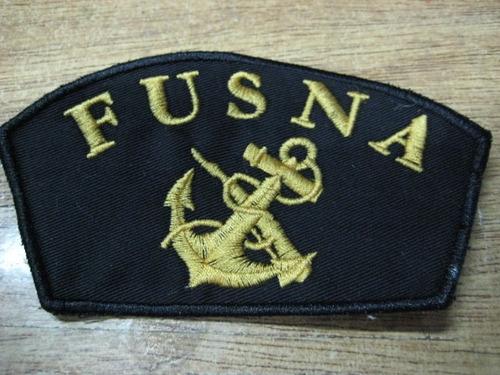 armada uruguay - fusna - parche bordado