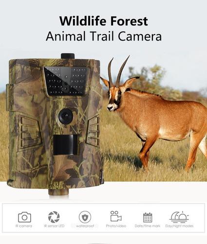 armadilha fotogrática trail cam 12mp câmera de caça noturna