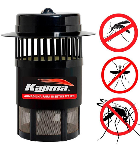 armadilha luminosa para insetos mt 120 - kajima