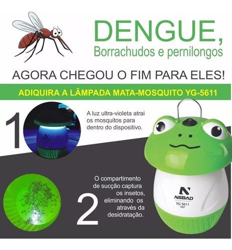 armadilha mata mosquitos original nsbao sapo sapinho yg-5611