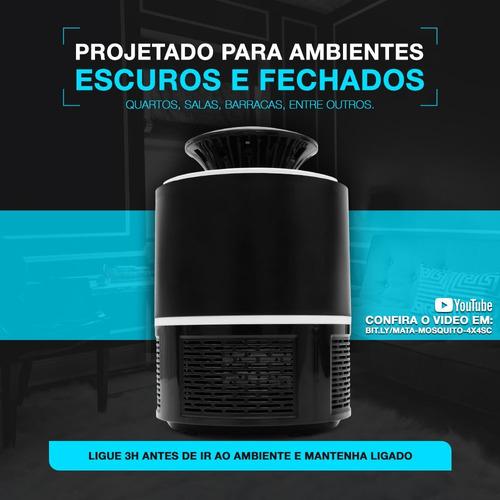 armadilha moskito pernelongo insetos c cooler led + plug usb