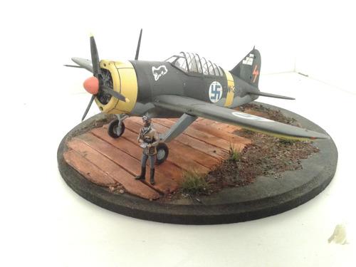 armado de maquetas de aviones. kit incluido