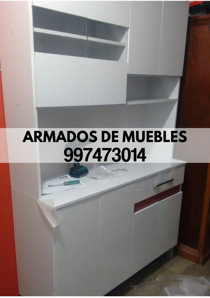Armado De Muebles Roperos Centro De Tv Librero Tf 997473014 S