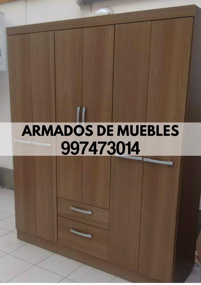 Armado De Muebles Roperos Centro De Tv Librero Tf 997473014 S  # Muebles Roperos