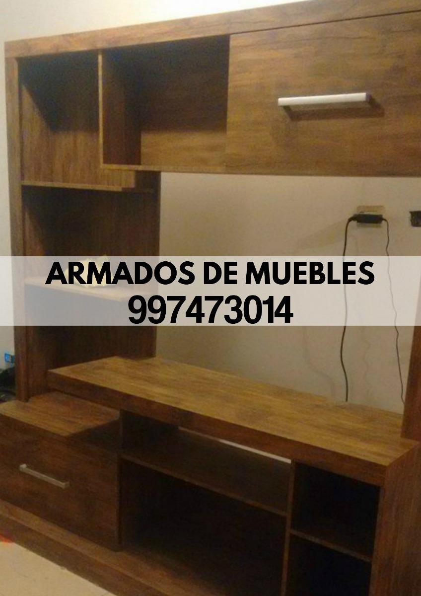 Armado De Muebles Roperos Centro De Tv Librero Tf 997473014 S  # Muebles Oeschle