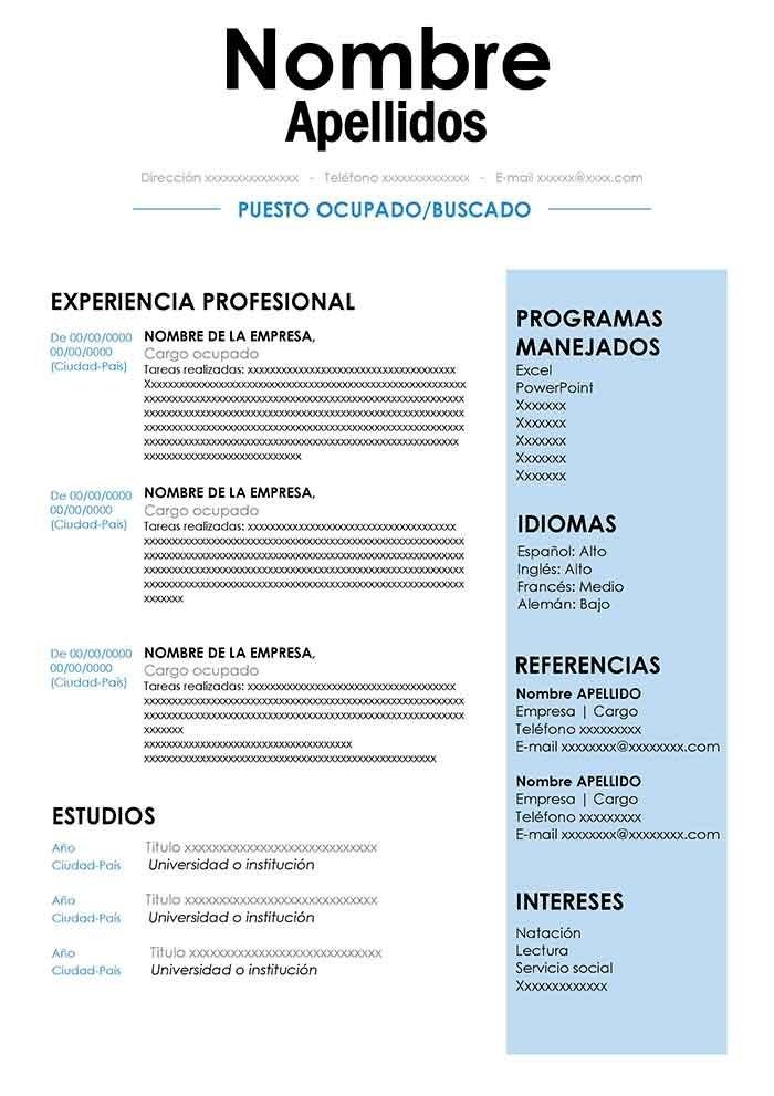 Armado Y Confeccion De Curriculum Vitae Profesional Cv 250 00