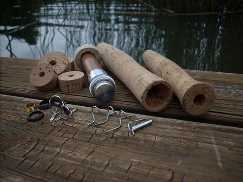 armado y reparacion de varas y cañas, fly - pejerrey - mar