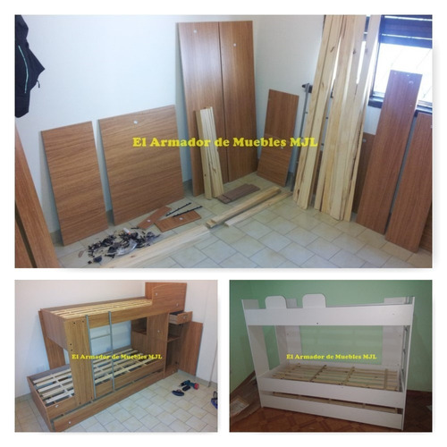 armador, armado de muebles a domicilio