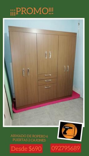 armador de muebles placares roperos rack economico