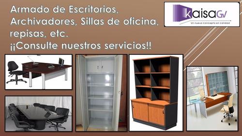 armados de muebles a domicilio ( de lunes a sabado)