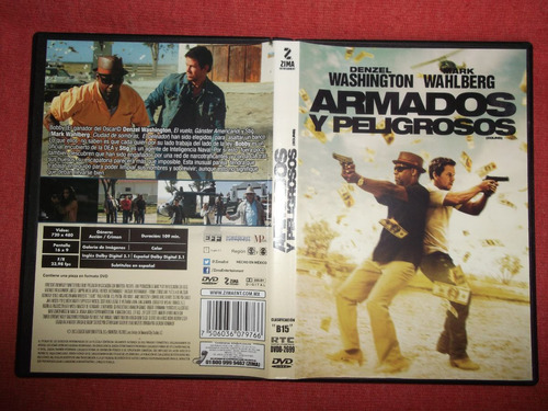 armados y peligrosos washington wahlberg dvd dob sub mdisk