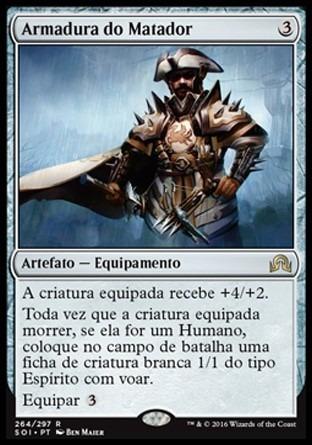 armadura do matador / slayer's plate