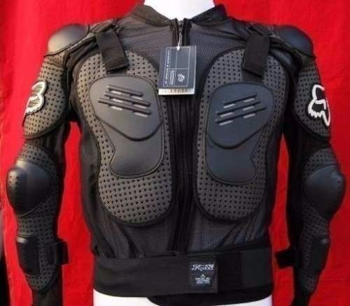 armadura fox esqueleto motociclista moto peto promocion